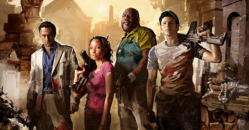 The Survivors in Left 4 Dead 2